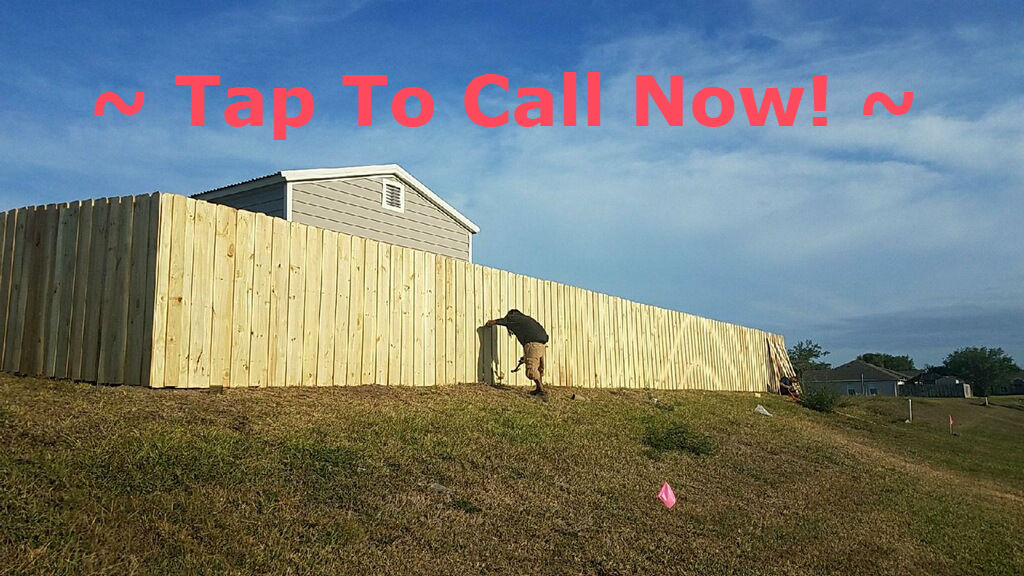 fence installation in Plano Texas